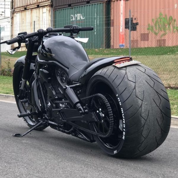 The Harley-Davidson V-Rod