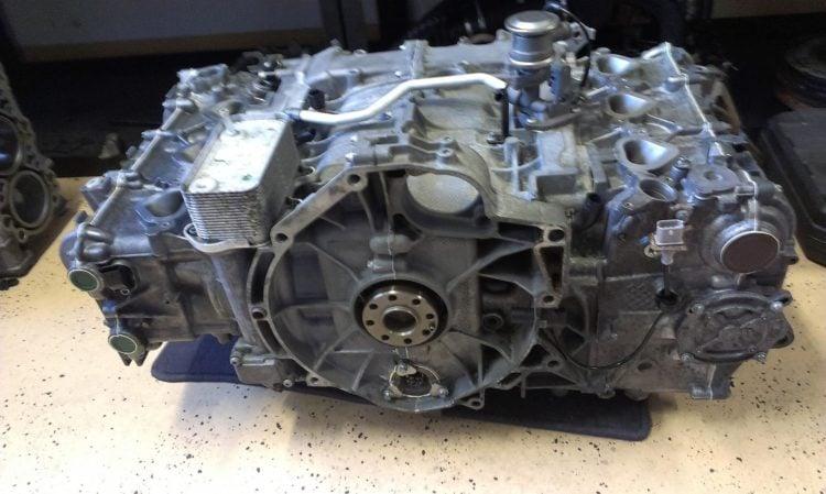 The Porsche Boxer engine
