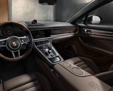 The Porsche Interior