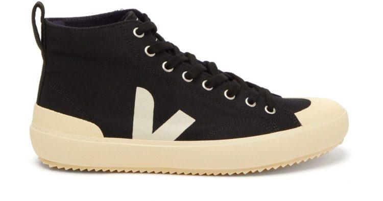 Veja Nova HT Organic Cotton-Canvas High-Top Sneakers