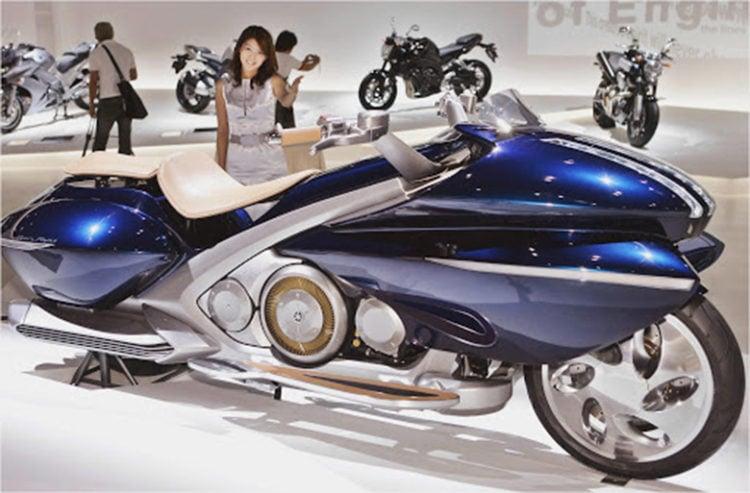 Yamaha Gen-Ryu Cruiser Concept