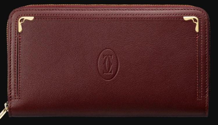 Zipped International Wallet Must De Cartier