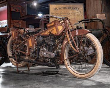 1916 Traub Motorcycle