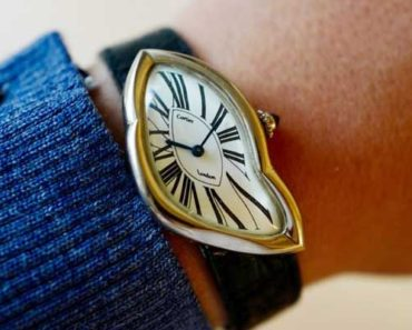 Cartier Crash Watch
