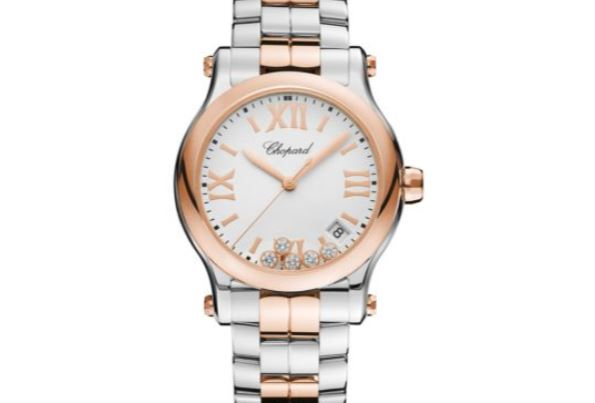Chopard Happy Sport 36mm Round Diamond Watch