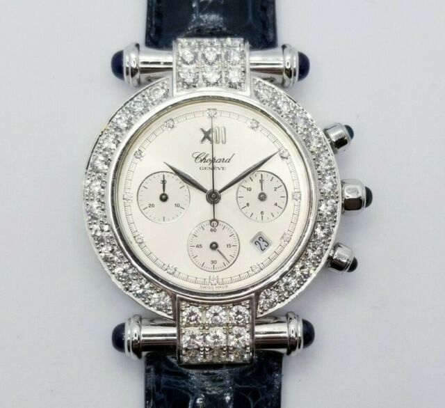 Chopard Imperiale 18k White Gold & Diamonds Ladies' Watch Reference #384239-1003