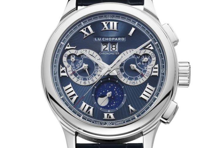 Chopard L.U.C Perpetual Chrono Platinum & 18K White Gold Men's Watch, 161973-9001