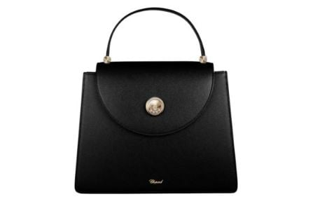 Chopard Madrid Black Calfskin Leather Handbag