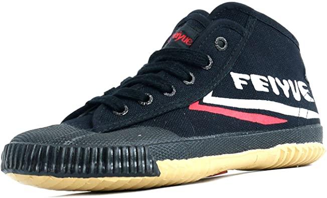 Feiyue Black High Top Shoes for Men