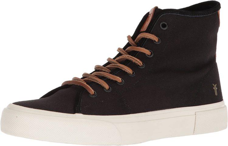Frye Ludlow High Canvas Print Sneaker