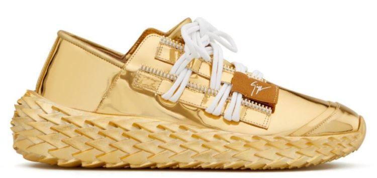 Giuseppe Zanotti High Urchin Suede High Top Sneakers