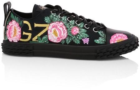 Giuseppe Zanotti x Swae Lee Floral Blabber Low-Top Sneaker