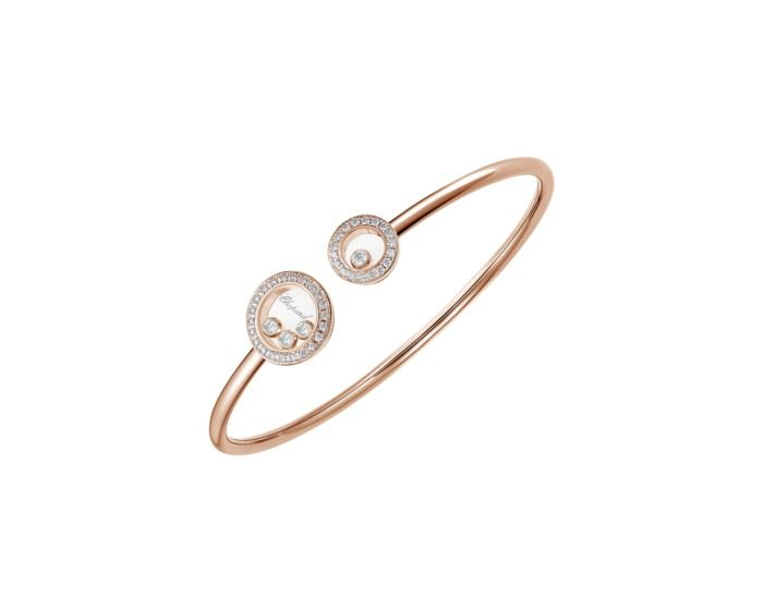 Happy Diamonds Icons Bangle Rose Gold Bracelet Reference number 85A6185200