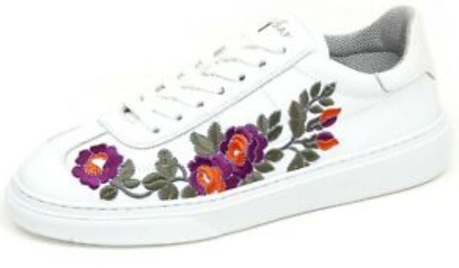 Hogan Tradi Tissue Sneakers with Floral Print