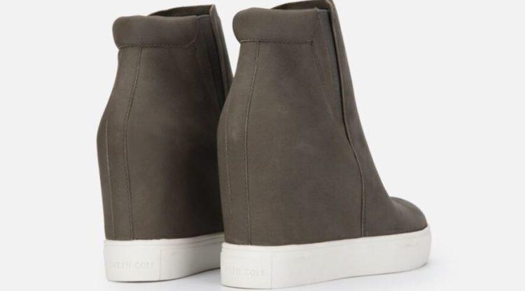 Kenneth Cole Kam Platform Wedge Sneaker