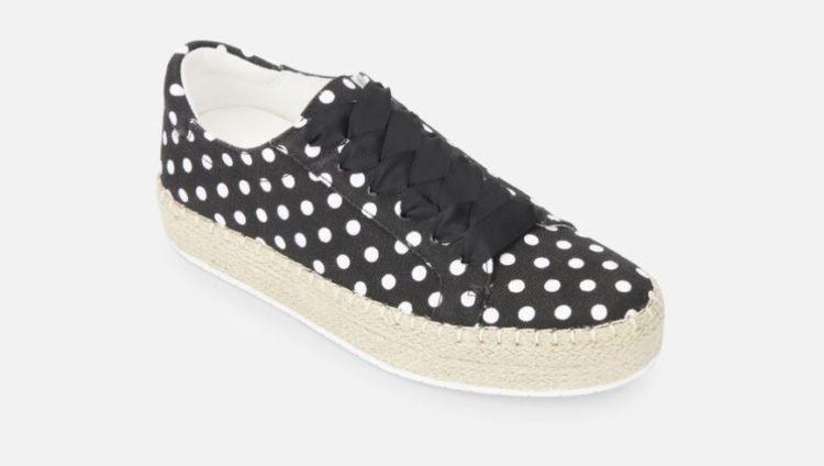 Kenneth Cole Kamspadrille Dot Flatform Sneaker