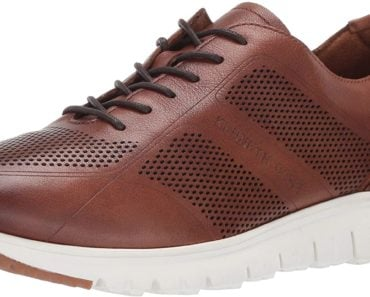 Kenneth Cole New York Brayden Leather Jogger Sneakers for Men