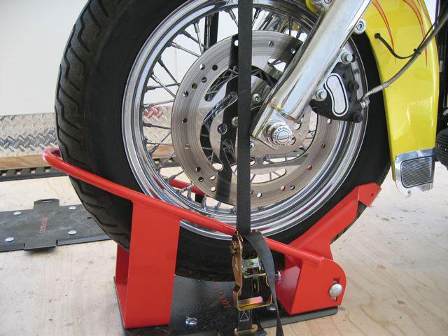 Lock N Load Motorcycle Chock Kit