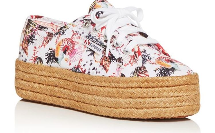 Mary Katrantzou Women's Platform Espadrille Sneakers