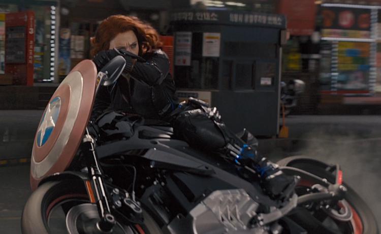 Motorcycle Did Black Widow Ride