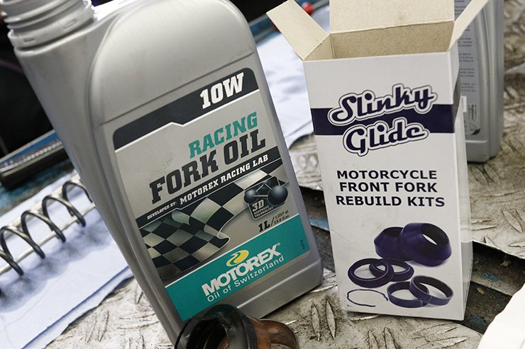 Motorcycle Fork Oil