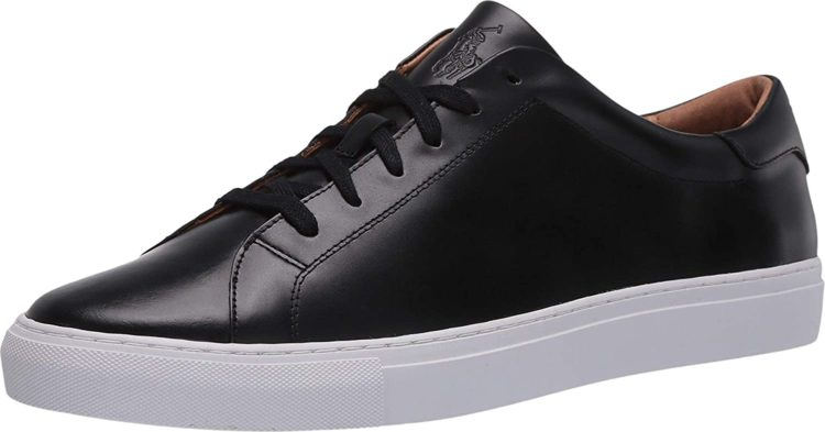 Ralph Lauren Jermaine Leather Sneaker for Men