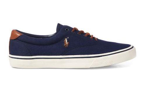 Ralph Lauren Men's Thorton Canvas Low-Top Sneaker