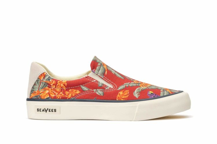 SeaVees Women's - Hawthorne Slip-on Magnum - Red Jungle Bird