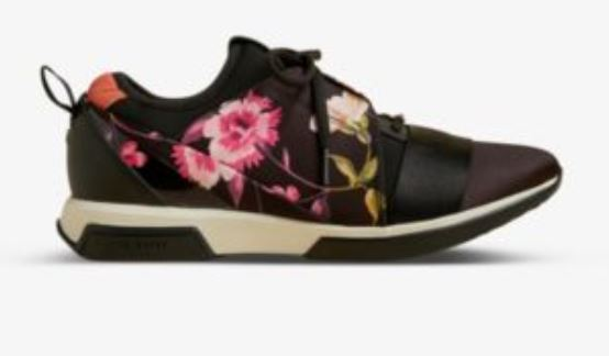 Ted Baker Rhubard Floral-print Running Trainers