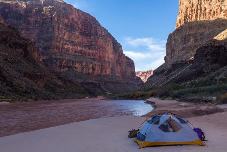 Spend a few days camping