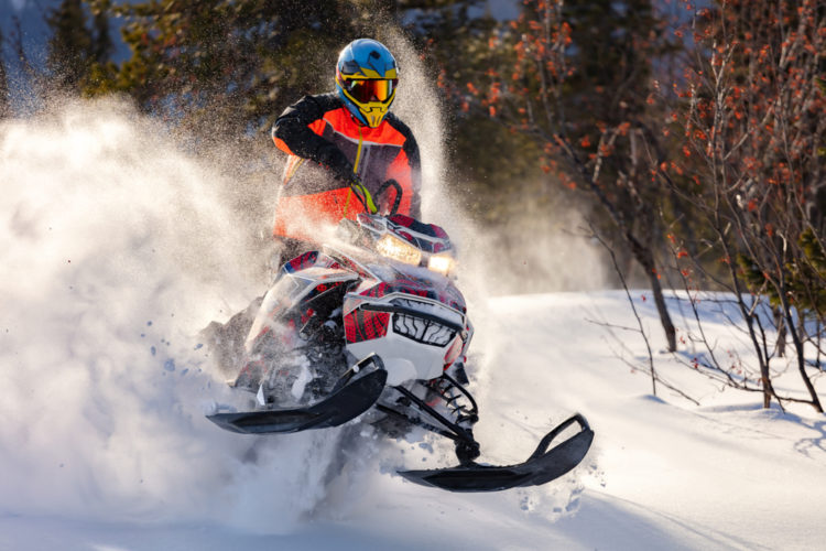 Have a Go at Snowmobiling