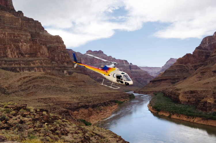 Grand Canyon via Helicopter