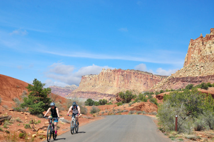bicycle tour of the Grand Canyon