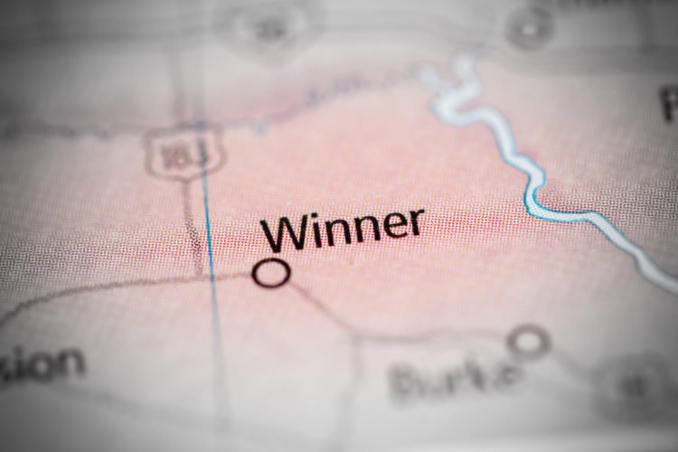 Winner, South Dakota