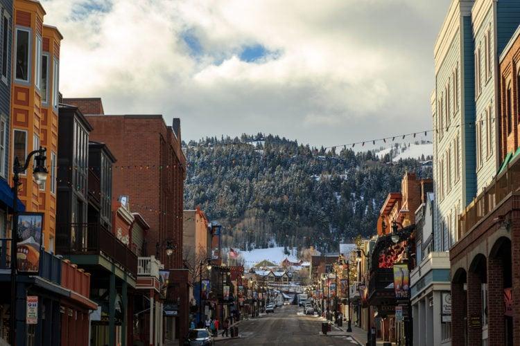 Explore Main Street in Historic Park City