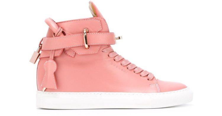Buscemi Basket Sneaker in Pink
