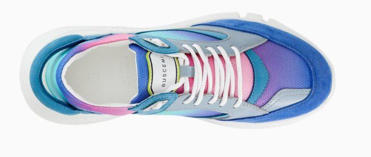 Buscemi Veloce Sneaker in Lila