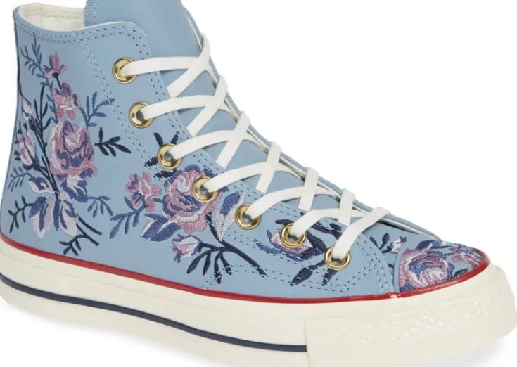 Chuck Taylor Women's Chuck 70 Hi Floral & Palm Embroidery Sneakers