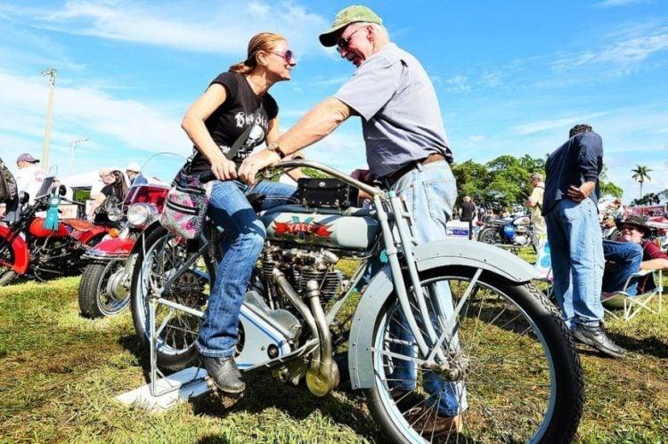 Dania Beach Vintage Motorcycle Show
