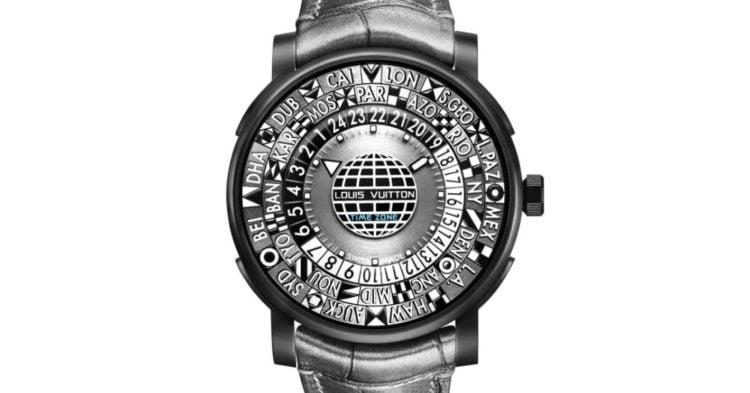 Louis Vuitton Escale Time Zone Blue 41