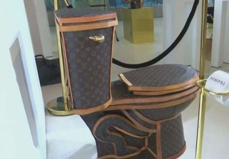 Louis Vuitton Toilet