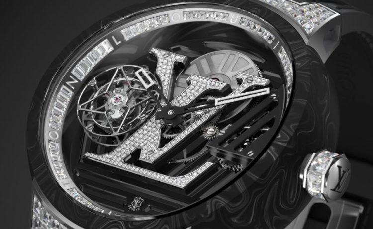 Tourbillon volante repetidor de minutos Voyager de Louis Vuitton