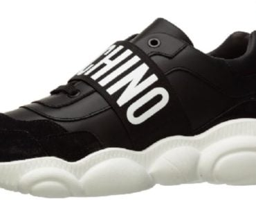 Moschino Faux Nappa Leather Teddy Shoes