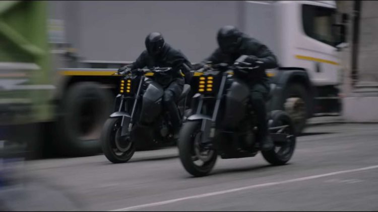 Motorcycle from Hobbs and Shaw