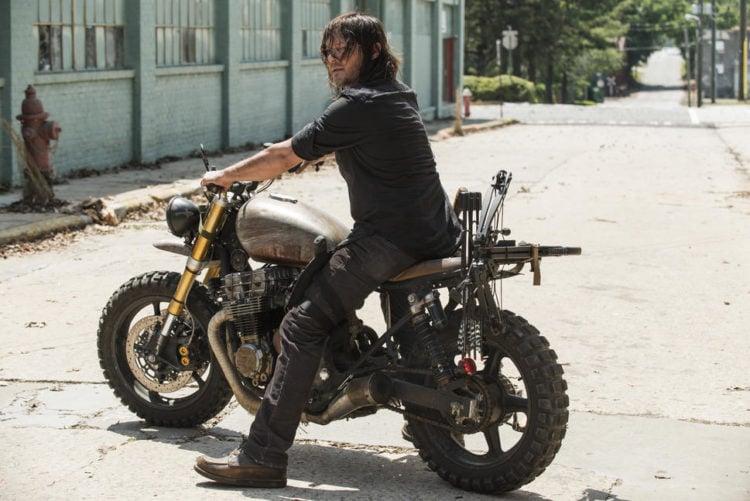 Motorcycle in The Walking Dead