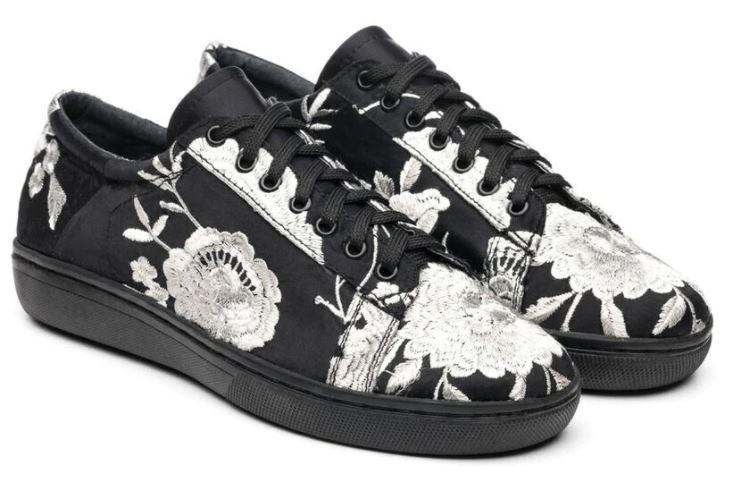 Natori Embroidered Sneaker Miyako
