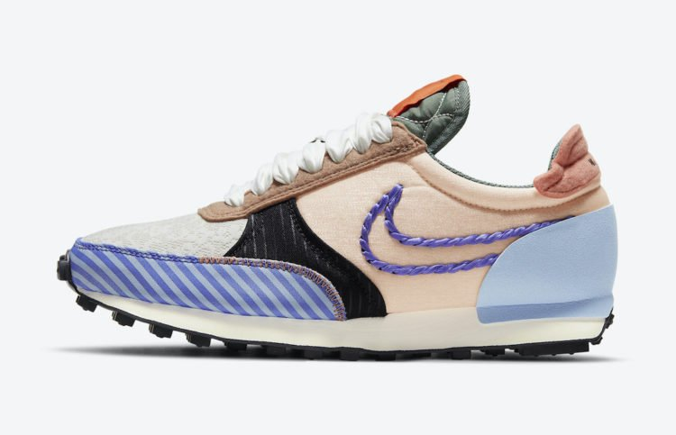 Nike Daybreak Type Detailed with Braids, Swooshes, and Stripes