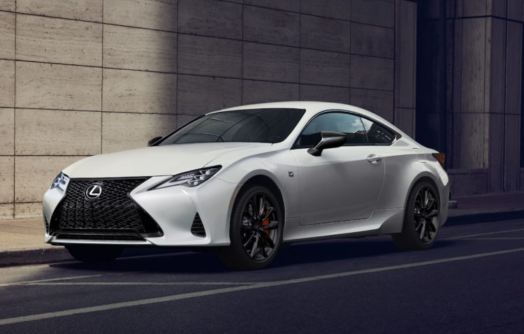 The Lexus RC 300 and RC 350
