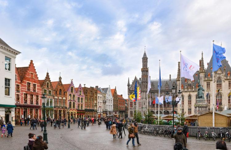 street tour of Bruges