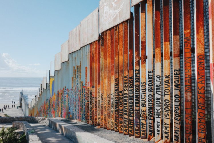 Playas de Tijuana border wall